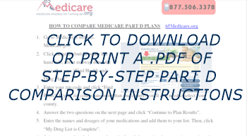 click to download step by step part d instructions