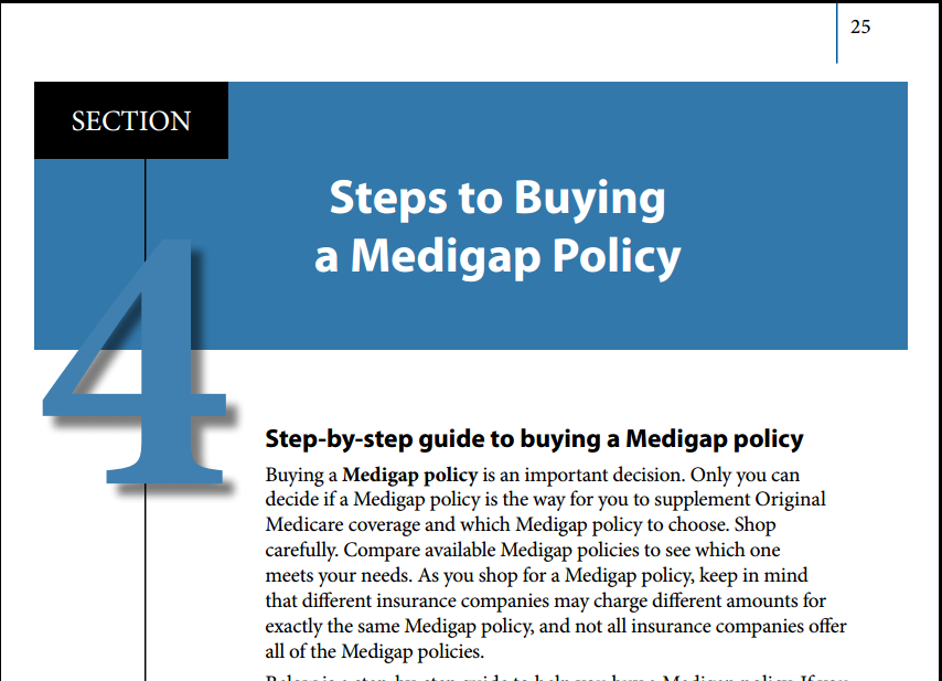 how to choose a medigap plan