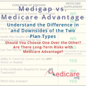 medigap and medicare advantage