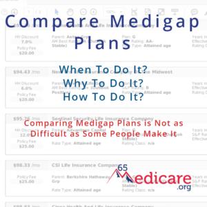compare medigap rates