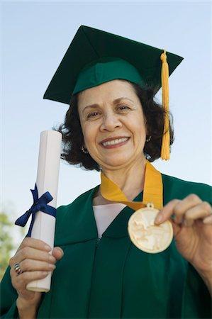 senior scholarship recipient